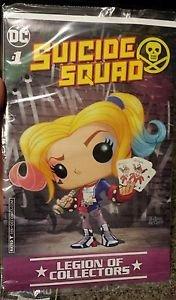 Suicide Squad #1 Legion of Collectors DC Comic Book Harley Quinn Exclusive Joker
