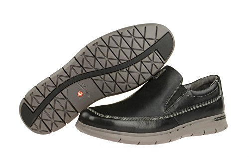 Clarks Men's 26120669 8 Loafer Flats Black PoER8EnVej