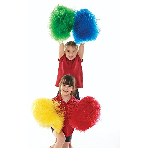 Pom Poms - Large - Yellow by Sportsgear US