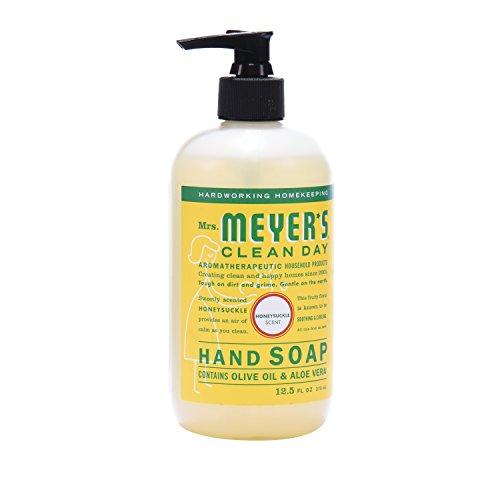 Mrs. Meyer´s Clean Day Hand Soap, Honeysuckle, 12.5 fl oz, 3 ct by Mrs. Meyer's Clean Day (Image #3)