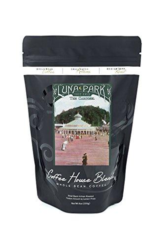 Luna Park - West Seattle, WA - The Carousel (8oz Whole Bean Small Batch Artisan Coffee - Bold & Strong Medium Dark Roast w/ - Carousel Wa