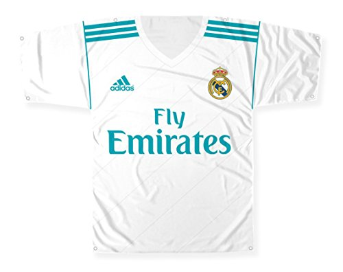 (Big Time Jersey New Real Madrid Cf Shaped Banner Flag, 57