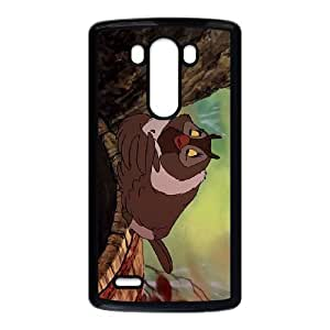 LG G3 Cell Phone Case Black The Fox and the Hound Character Big Mama S4762749