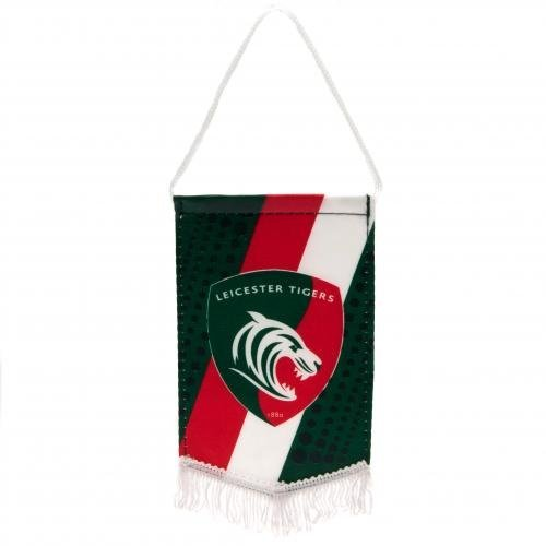 Mini Pennant - Leicester Tigers by Footie Gifts ()