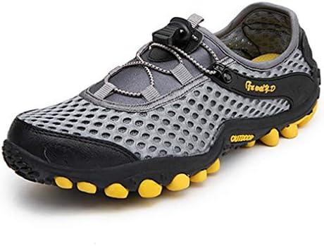ローカットハイキングシューズ メンズ 滑り止め レースアップラウンドトゥ水陸両用シューズ 耐摩耗性 軽量 通気 登山靴 レディース 歩きやすい ウォーキングシューズ 夏 屈曲性 つま先保護 走れる