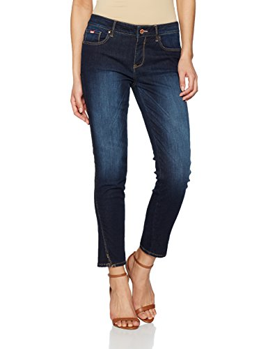 Advanced Blue Wash Jean HIS Skinny Amber Dark Bleu Femme w1FqPFZO