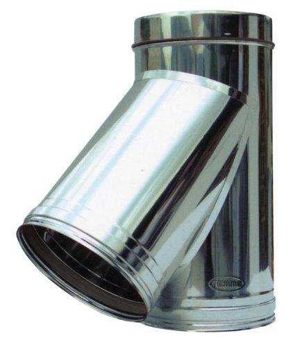 Racor en Y para tubería de acero inoxidable radiador Piemme ...