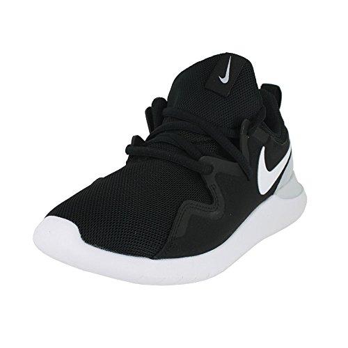 NIKE Women's Tessen Running Shoe, Black/White-Pure