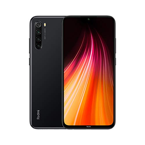 🥇 Global Xiaomi Redmi Note 8 Negro 4GB 64GB Smartphone Snapdragon 665 Octa Core 48MP Cámara Trasera cuádruple 6.3″ 4000mAh 18W Cargador rápido【Versión Europea】