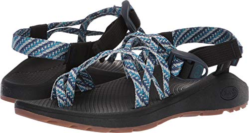 Chaco Women's Zcloud X2 Sport Sandal, Pivot Navy, 5 W US (Wrap Buckle Around)