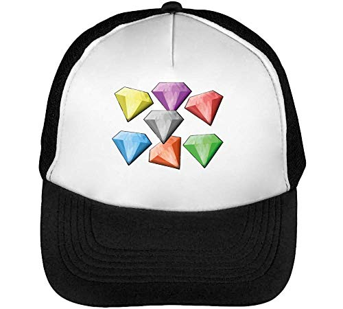 Blanco Snapback Hombre Colourful Negro Gorras Beisbol xTXSOCz