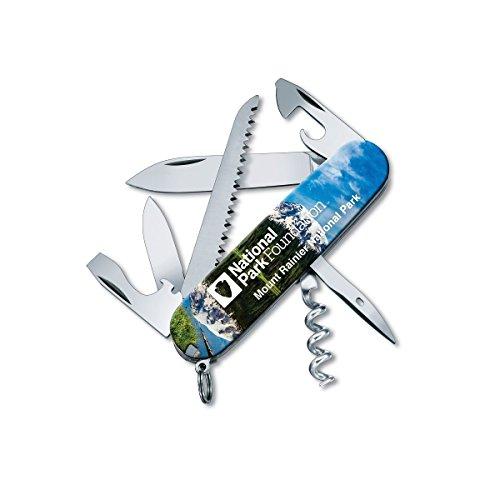 Victorinox Swiss Army Camper Pocket Knife, Mt. Rainier National Park