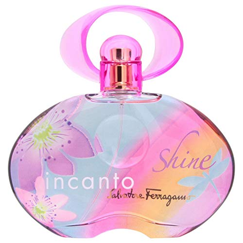 Salvatore Ferragamo Incanto Shine Eau De Toilette Spray 3oz/ 100 Ml for Women By 3fl -