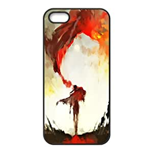 Custom Case Oil Painting For iPhone 5, 5S Q3V853138