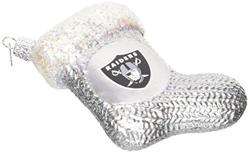 Old World Christmas 72408 Oakland Raiders Stocking