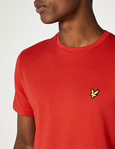 tomato Scott Rosso Neck shirt T amp; Lyle Crew Uomo Z353 Red S8qFxZ5