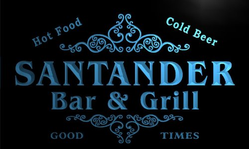 u39287-b-santander-family-name-bar-grill-home-brew-beer-neon-sign