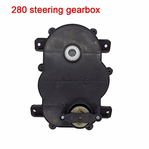 Steering Gearbox with Motor,RS280 12V Motor with Gear Box for Kids Power Wheels Cars Steering Motor Accessory Match Children's Electric Ride on Toys Replacement Parts