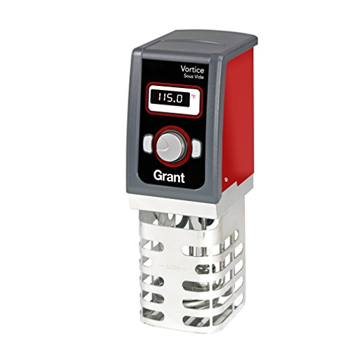 Creative Cuisine by Grant Vortice Sous Vide Immersion Thermal Circulator, Red, One Size by Creative Cuisine by Grant
