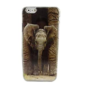 JOE A Mighty Elephant Plastic Hard Back Cover for iPhone 6 Plus