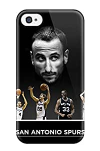 New Style san antonio spurs basketball nba (25) NBA Sports & Colleges colorful iPhone 4/4s cases