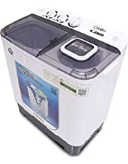 Clikon Washing machine with two tubs, Regular 7 Kg, Top Load, Multi Color, CK616