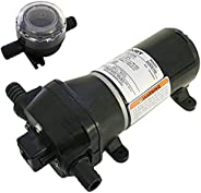 Flojet 4325 Series Heavy Duty Automatic Deck Washdown Pump, Quad II Diaphragm
