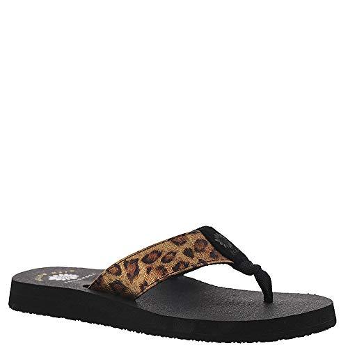 - Yellow Box Nabilah Women's Sandal 7.5 B(M) US Tan-Leopard