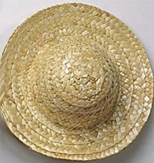 Amazon.com  Package of Miniature 12 Straw Doll Hats 4