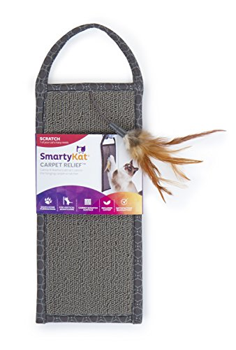 SmartyKat Carpet Relief Hanging Scratcher with Catnip