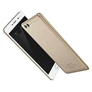 5.5Inch Smartphone Android 7.0 Dual-IMEI CPU Octa-Core RAM 4+64G for MEIIGOO M1 Smartphone (Gold)