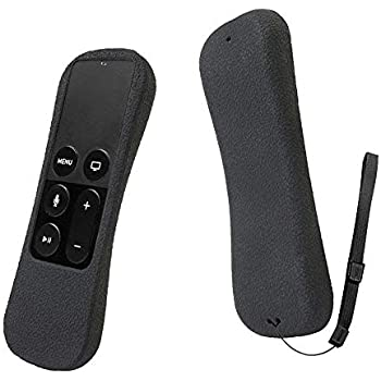 PUBAMALL Funda para Amazon Fire TV Stick, Funda de Silicona Suave a Prueba de Golpes con Cubierta de protección de diseño de Fibra de Carbono para Funda para Amazon Fire TV Stick (Negro)