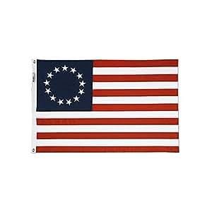 Algodón Betsy Ross bandera (tamaño)