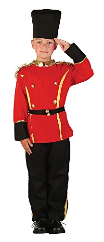 Coast Guard Girl Costumes (British Guards Man - Childrens Fancy Dress Costume - Medium - 122 to 134cm by Bristol Novelties)
