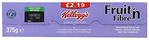 Kellogg'S 1 Fruit And Fibre, 375G by Kellogg's (Image #3)