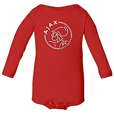Spark Apparel New Soccer Amsterdam Baby Long Sleeve Bodysuit