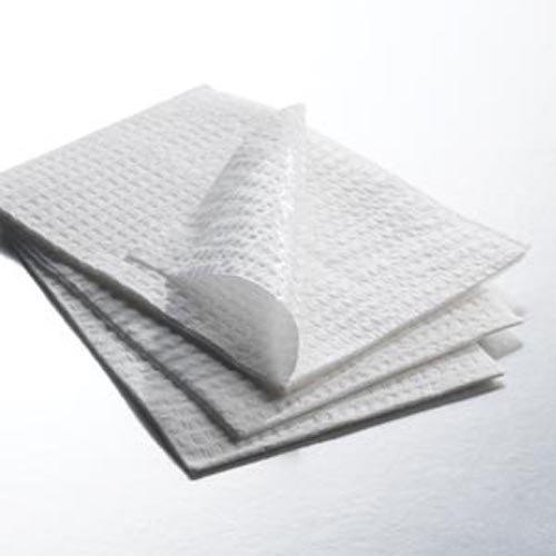 Towel, White, 13-1/2'' x 18'', 3-Ply 500 pk