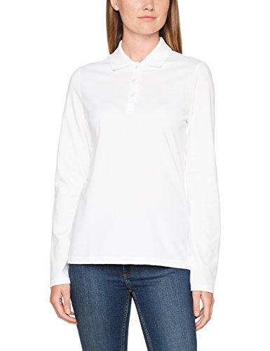 001 Bianco Polo Donna Trigema weiss v8FEqgvIx