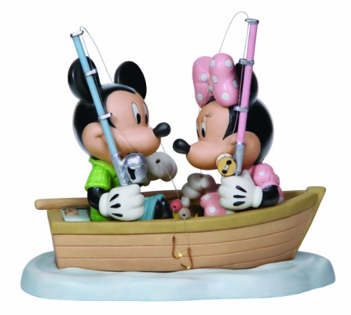 Precious Moments, Disney Showcase Collection, Hooked On You, Bisque Porcelain Figurine, 132701