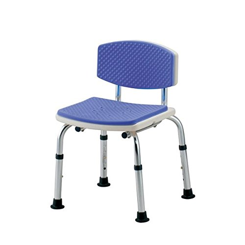 イーストアイ シャワーチェア シャワーベンチすま~いる家庭用背つきブルー N-FCBS-A ds-1548076   B01CXGGA1Q