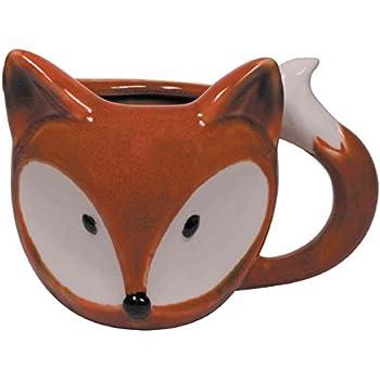Fox Ceramic Coffee Mug