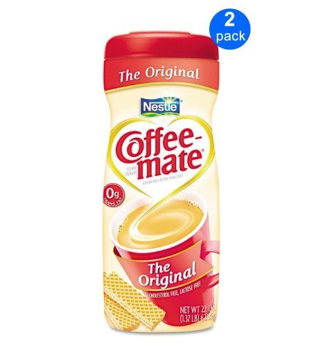Nestle Coffee-mate Original Powder Coffee Creamer 2-pack;22 Oz each. by Coffee-mate