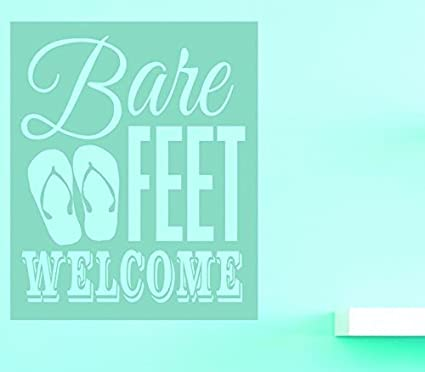 Design with Vinyl V 1 US V Jer 3367 1 Top Selling Decals Bare Feet ...