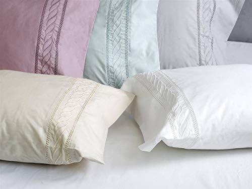 Algodon Blanco - Juego sábanas Minerva 100% algodón percal 210 ...