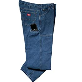 Men's Relaxed-Fit Double-Knee Workhorse Jean
