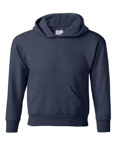 Hanes - Youth Comfortblend Pullover Hooded Sweatshirt, P470, Deep Navy, L