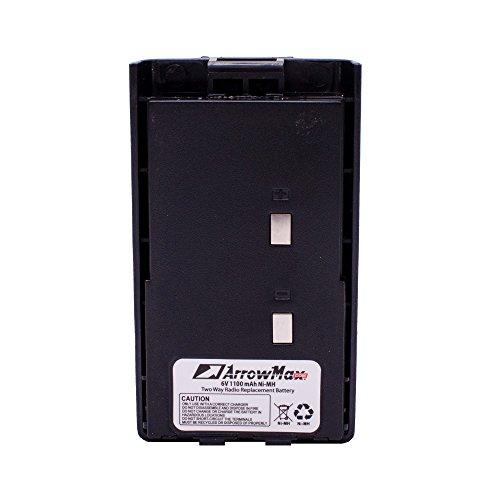 10 Pack Maxtop AHCM1104-1100-D BH1104 BH1106 BH1302 Battery for Hytera HYT TC-500-U1 TC-500-V1 TC-500-V2 TC-447 by MAXTOP