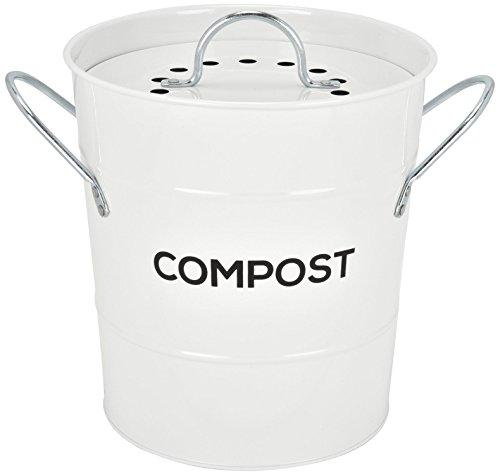 INDOOR KITCHEN COMPOST BIN by Spigo, Great for Food Scraps,