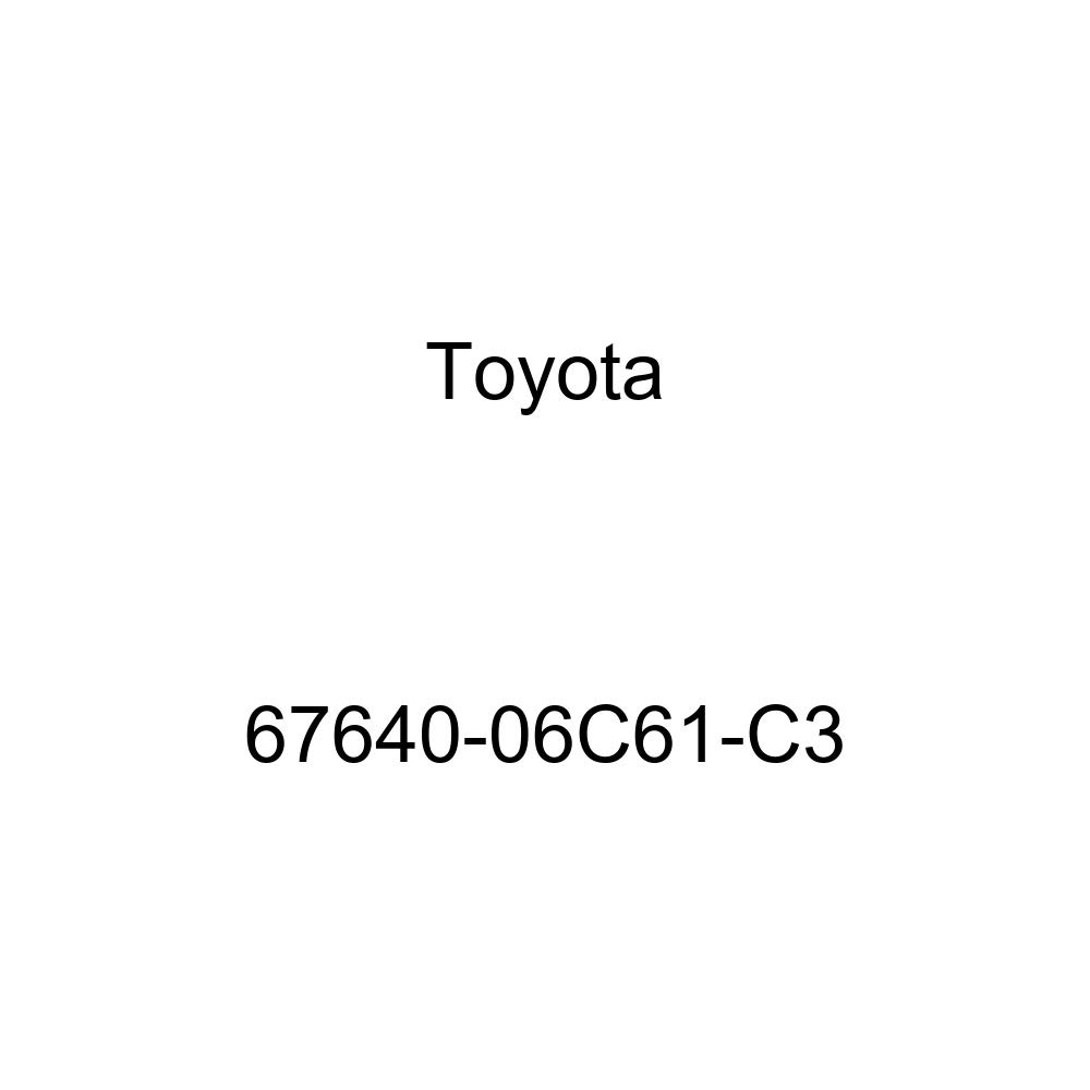 Genuine Toyota 67640-06C61-C3 Door Trim Board