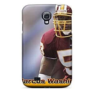 New Arrival Cover Case With Nice Design For Galaxy S4- Washington Redskins